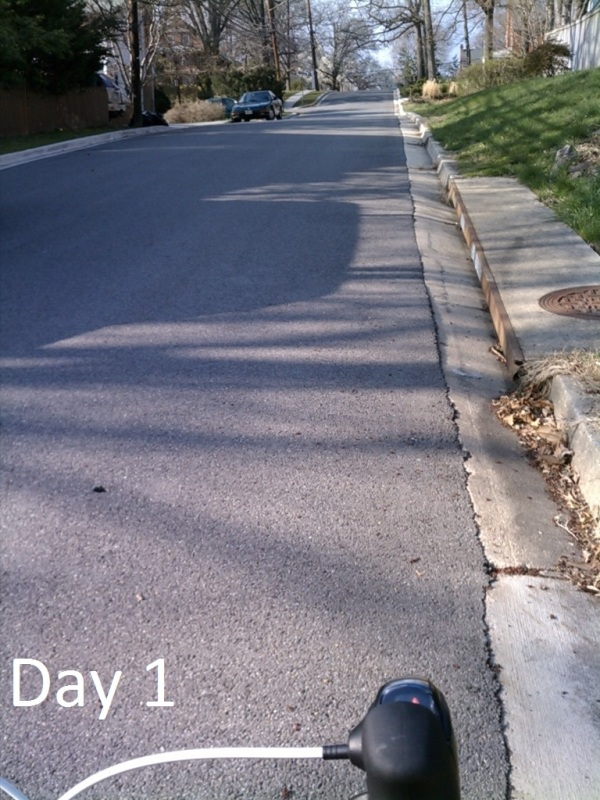 #30DaysofBiking Day 1